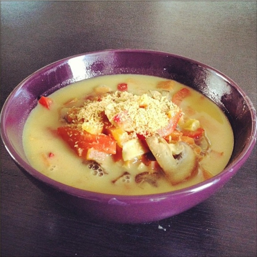 Coconut-Curry soup