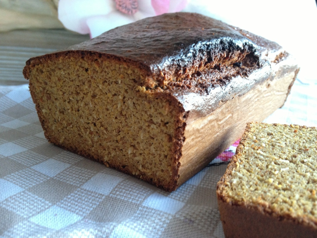 Clean pumpkin bread