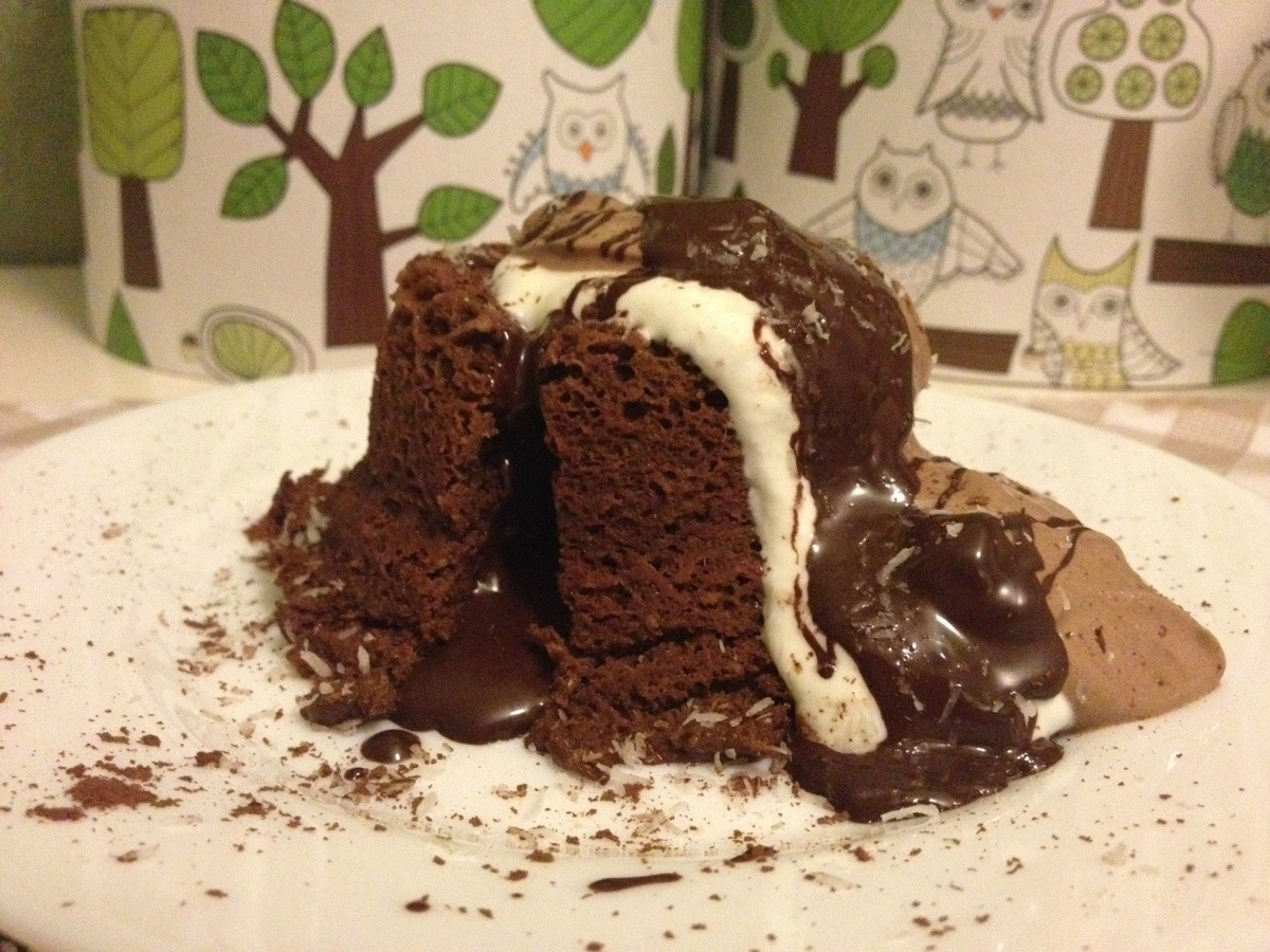 Chocolate mugcake